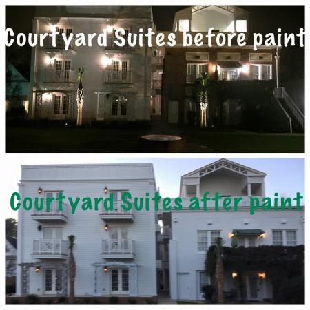 Aiken, SC: Before/After of Courtyard Suites