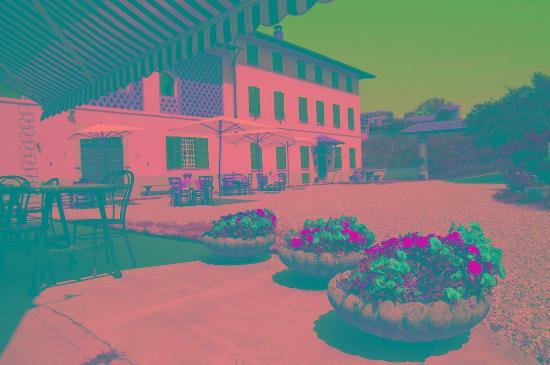 Vignale Monferrato, Italia: Il cortile