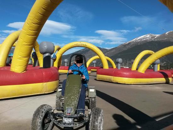 Sant Julia de Loria Parish, Andorra: Circuito de Karts a pedales