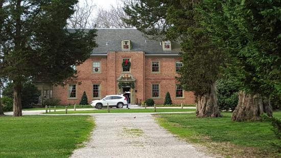 Chestertown, MD: View of part of the manor from the front