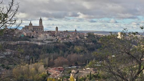 Parador de Segovia: Vistas de Segovia desde la habitación