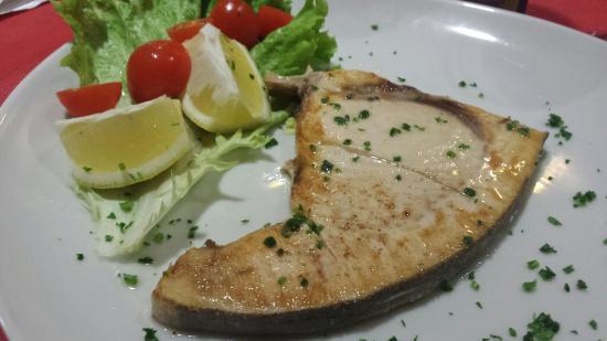 Omegna, Ιταλία: Pesce Spada 10€
