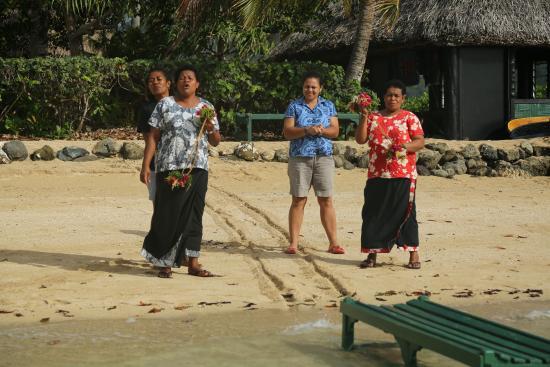Nukubati Private Island: Greeting