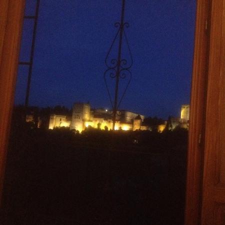 Las-Tres-Terrazas: Night view from room