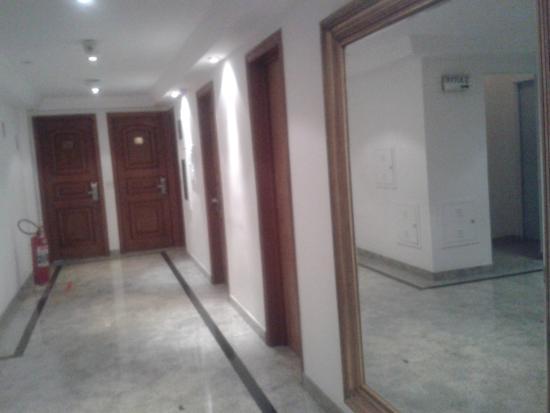 Benidorm Palace Hotel: Pasillos