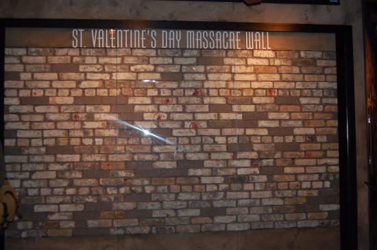 Foto De The Mob Museum Las Vegas St Valentine S Day Massacre Wall