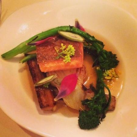 Concord, MA: Bondir Steelhead trout with fennel & broccoli rabe