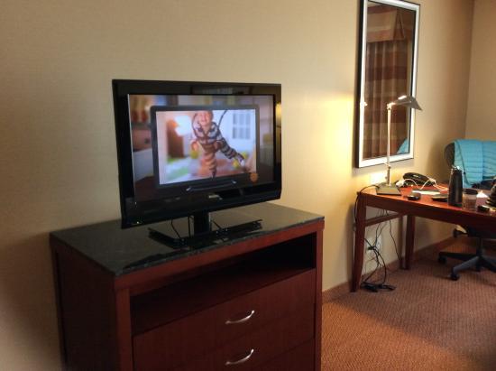 Blacksburg, VA: TV kind of smallish