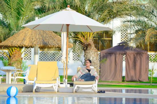 Liwa Oasis, Emirati Arabi Uniti: Swimming Pool