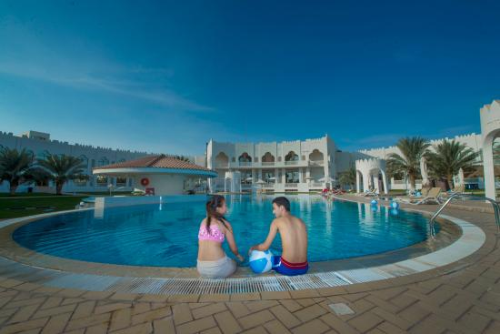Liwa Oasis, Emiratos Árabes Unidos: Swimming Pool
