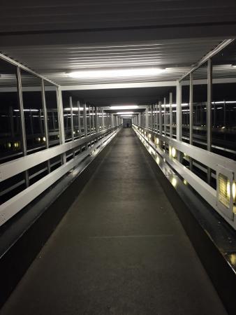 Fleet, UK: The Scott Mills Bridge