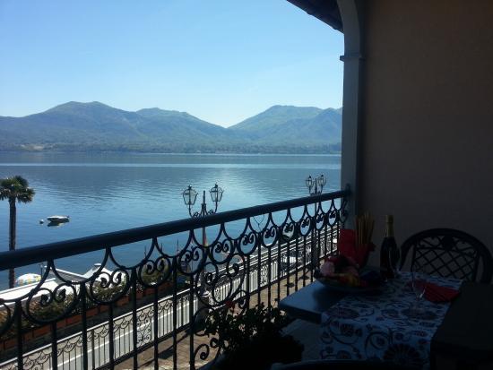 Oggebbio, Italia: balcone vista lago