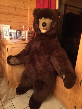 Brown Bear Lodge : Boris the bear