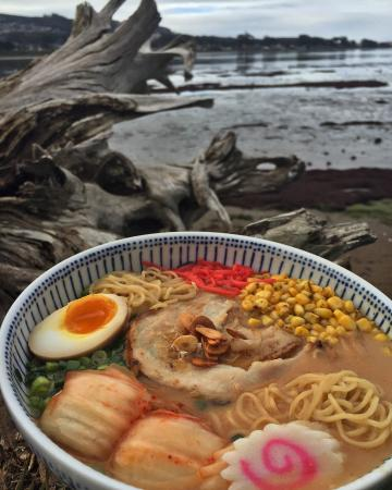 Los Osos, Californie : pork ramen
