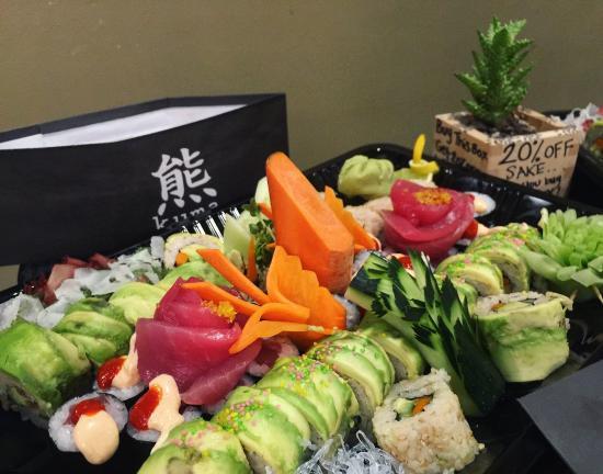 Los Osos, Kaliforniya: sushi catering