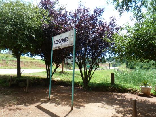 Haenertsburg, Güney Afrika: Sign at parking area