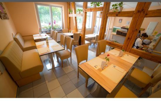 Fuerth, เยอรมนี: Das Restaurant von Innen