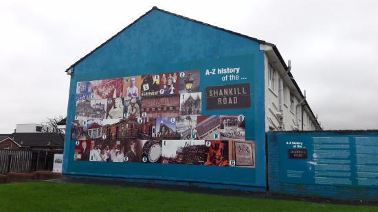 Murais de belfast foto de belfast mural tours belfast for Belfast mural tours