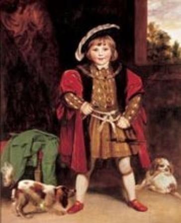 Tate Britain : Master Crewe dressed as Henry VIII -painted bt Joshua Reynolds