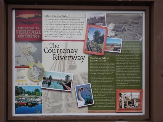 Courtenay, Canadá: Riverway Walk around the Airpark