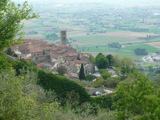 Arezzo, Italien: Guida turistica Cortona