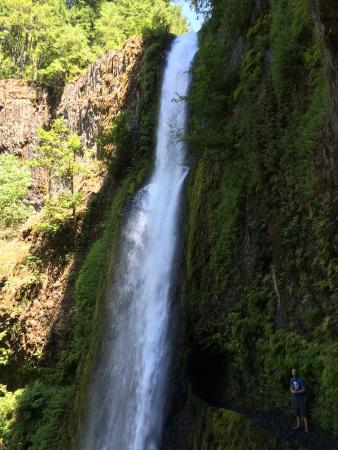 Cascade Locks, Oregón: Tunnel Falls - 6 miles from trailhead