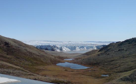 Edge of the inland ice close to Kangerlussuaq