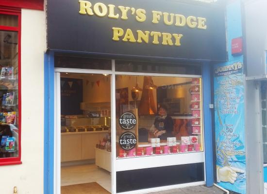 Roly's Fudge Pantry Newquay