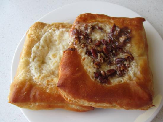 Lake Milton, OH: Cheese Danish Pastry, Caramel Pecan Danish Pastry