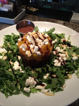 Needham, MA: roasted beet salad with goat cheese
