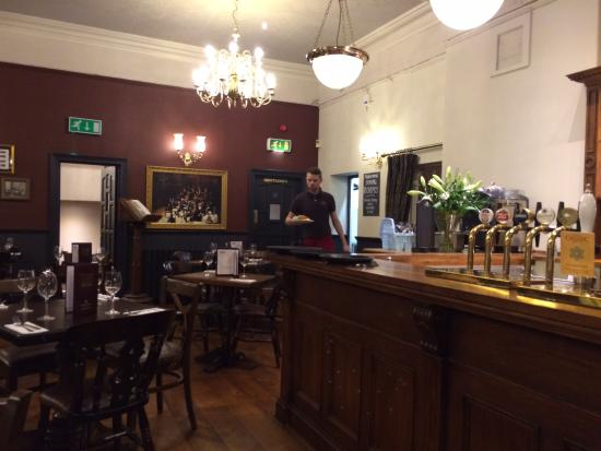 The Philharmonic Dining Rooms  Upstairs dining room. A wonderful real ale pub    Picture of The Philharmonic Dining