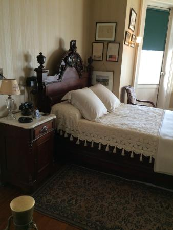 Hyde Park, NY: The bedroom of FDR.