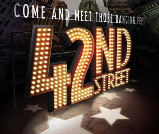 The Palace Theatre: 42nd Street! Brand new show to the Palace!