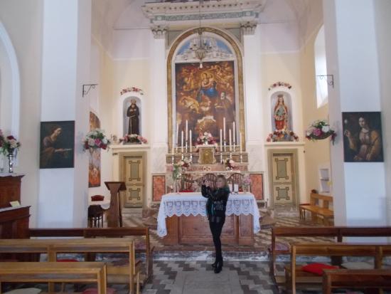 Savoca, Italia: l'interno della chiesa
