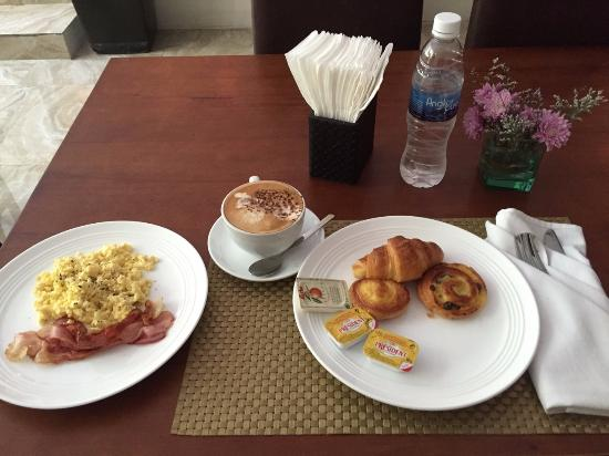 Omana Hotel: My Favourite Breakfast, which I was keeping on ordering every single day for a week.