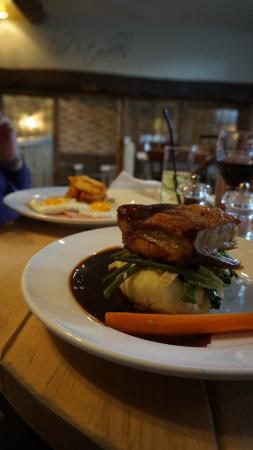Buckhurst Hill, UK: Pork Belly
