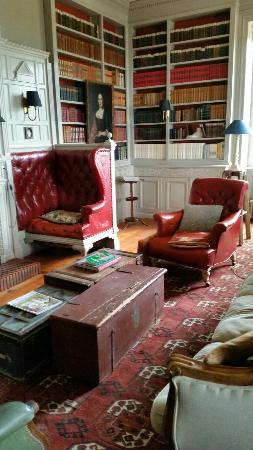 Chateau de Vaulx: Living room