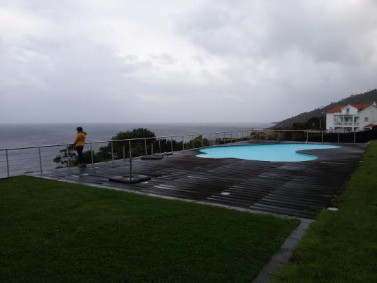 São Roque do Pico, Portugal: zona da piscina