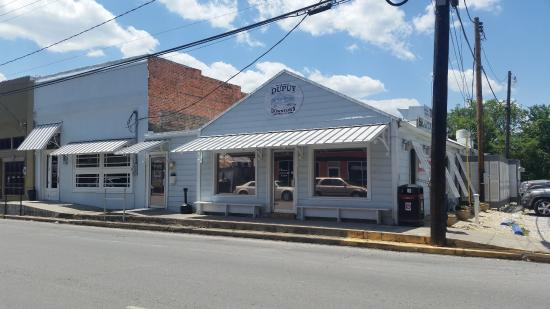 Abbeville, Louisiane : Dupuy's seafood and Steak