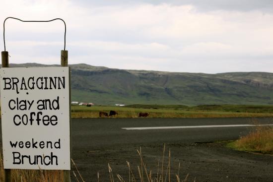 Fludir, Islandia: Min yndlingscafe
