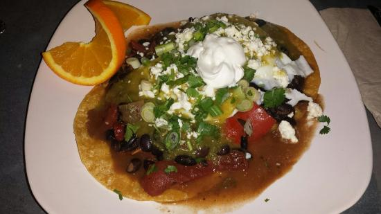 In the top two for Grass Valley & Nevada a city for Huevos Rancheros. Excellent tomatillo sauce