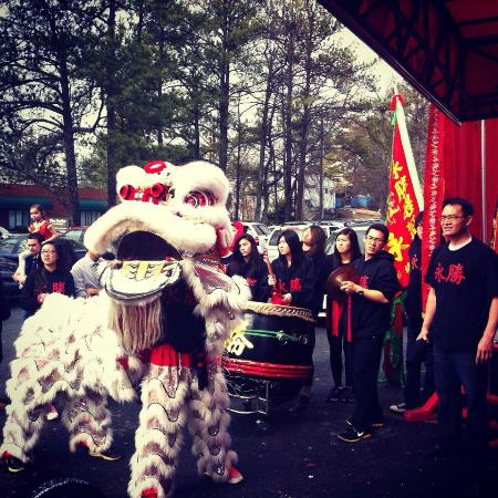 Chamblee, GA: Dragon/Lion Dance to celebrate the Chinese New Year