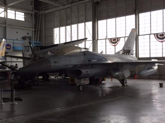 North Canton, OH: Front view of a jet