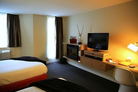 Adara Hotel: moderne und sehr saubere Zimmer