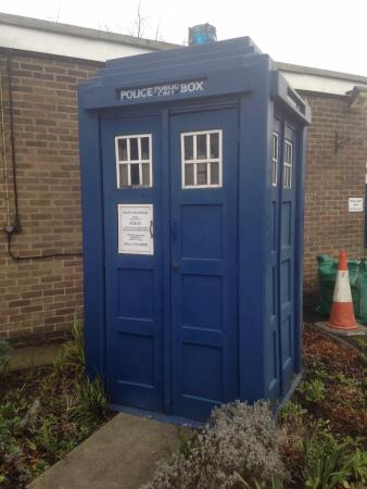 Wetherby, UK: The Old Police Box