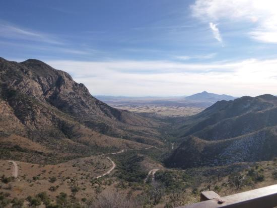 Hereford, AZ: Facing East from top of Coronado Memorial.