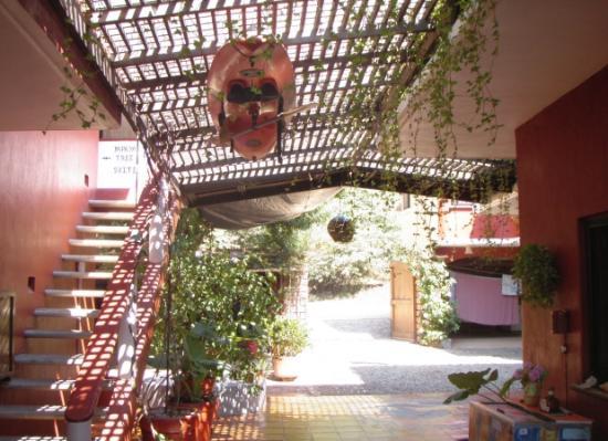Troncones, เม็กซิโก: entryway - open breezeway