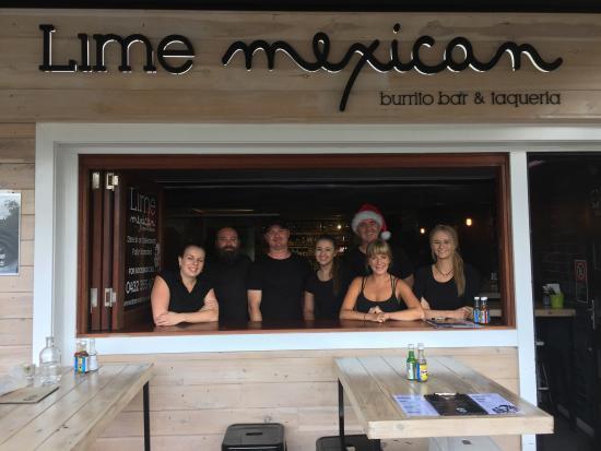 Sawtell, Australia: Lime Mexican Burrito Bar & Taqueria