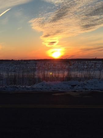 Plum Island Grille: Beautiful Sunet