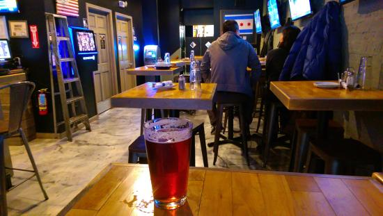 beer and back tables picture of the warehouse bar pizzeria rh tripadvisor com